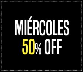50% MIERCOLES